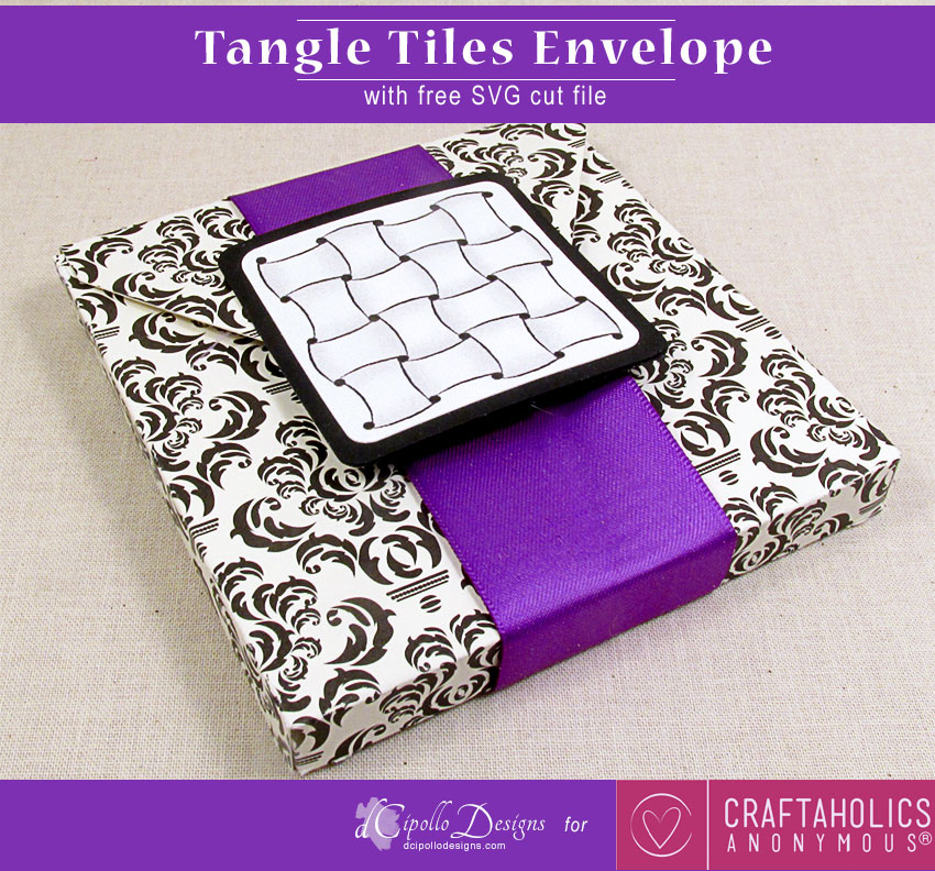 Tangle Tiles Envelope by dCipollo Designs