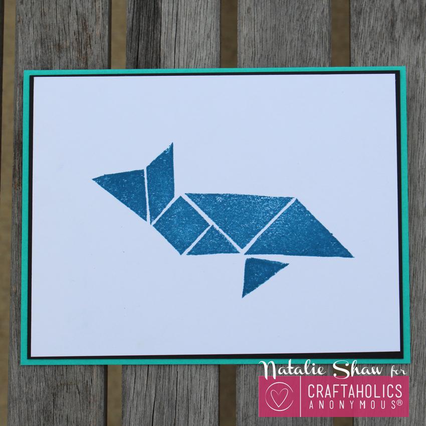 Tangrams whale