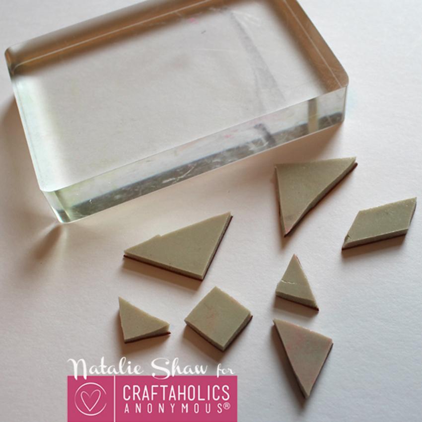 diy tangrams rubber stamps geometric cards (6)