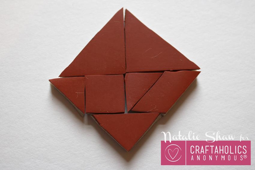 diy tangrams rubber stamps geometric cards (9)
