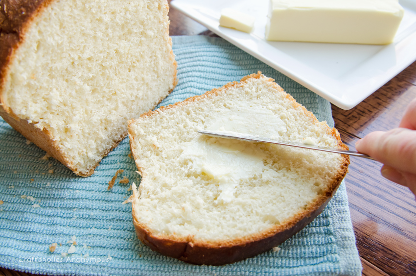 Get homemade bread the easy way with this easy Bread Machine White Bread recipe. Hearty and delicious!