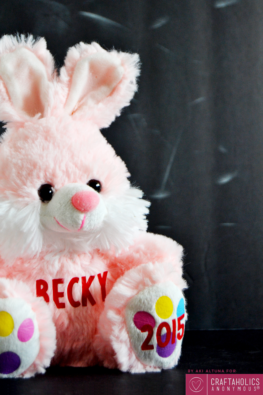 DIY Easter Bunny Dollar Store Craft