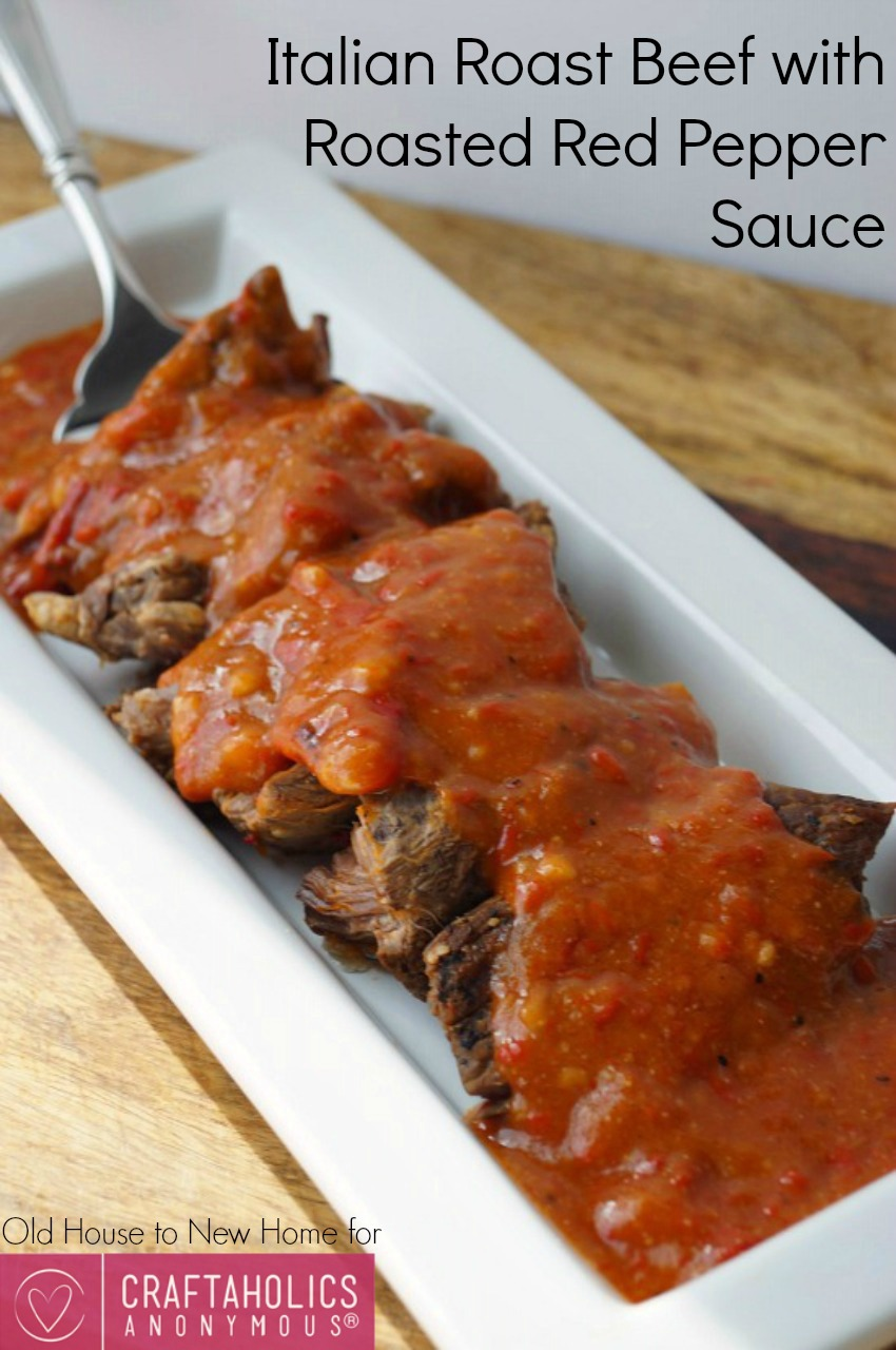 Italian Roast Beef recipe    The sauce is the best part!
