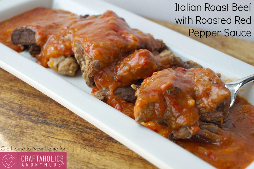 Best Roast Beef recipe    The red pepper sauce is to die for!