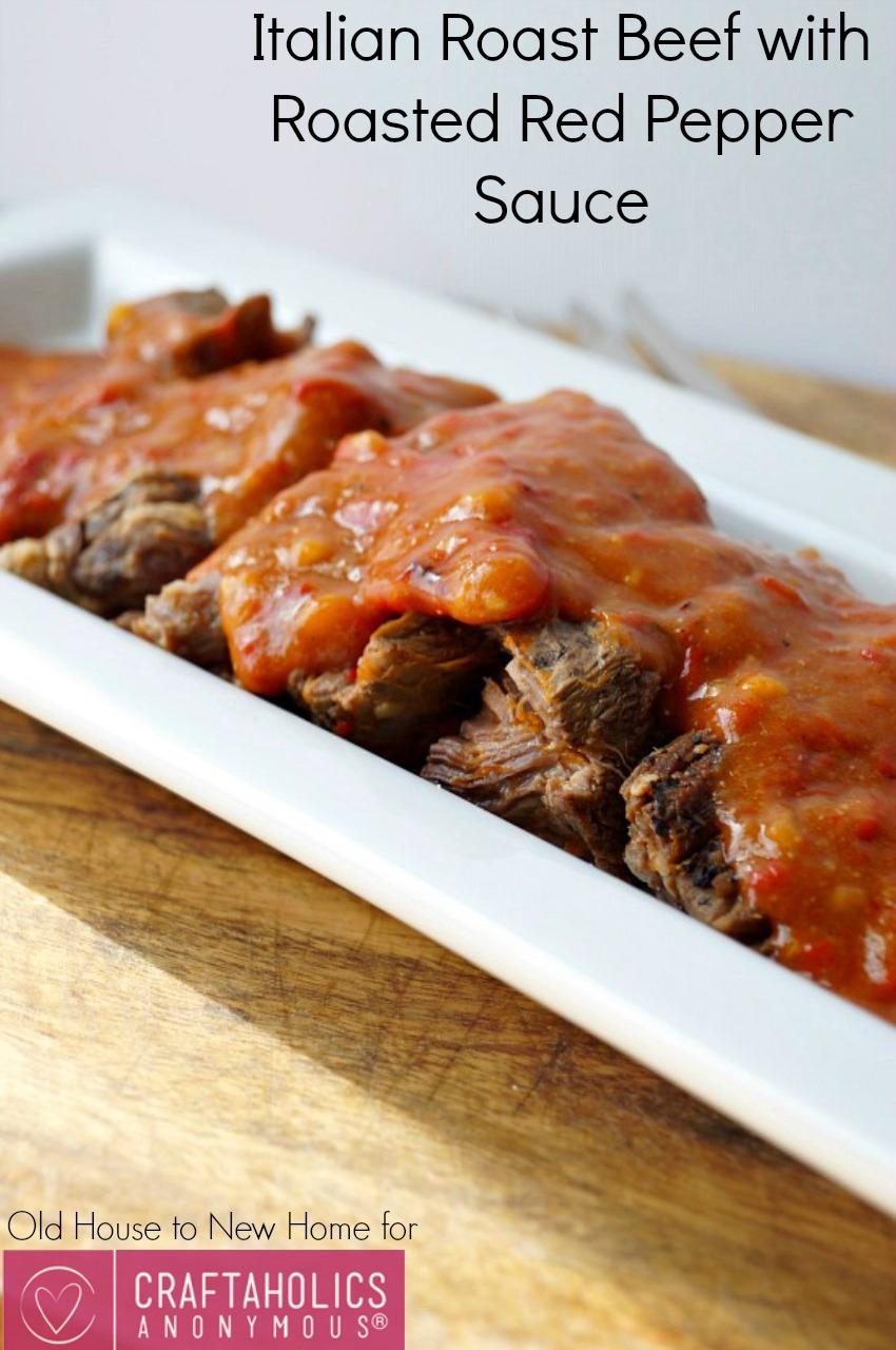 Italian Roast Beef    Seriously the best roast beef recipe ever!