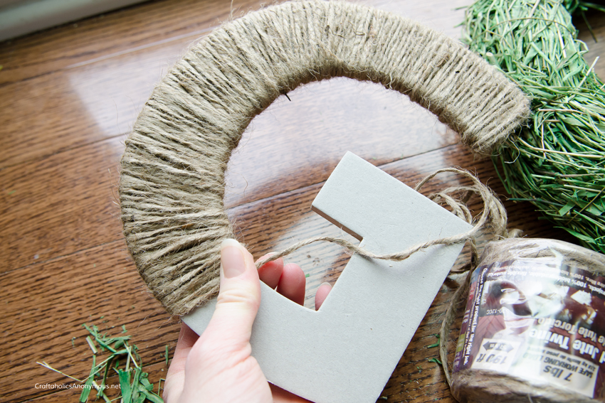 How to make Twine letter
