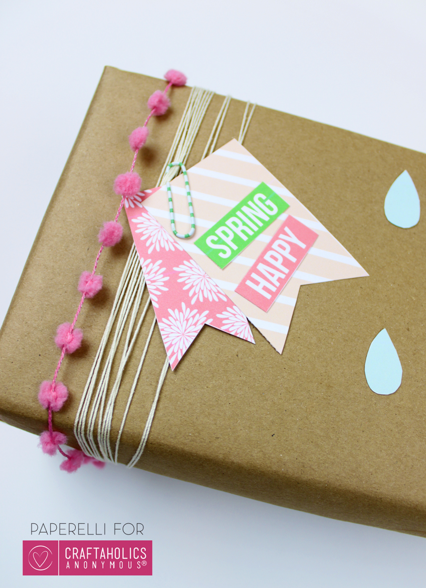 Spring Gift Tags on Craftaholics Anonymous