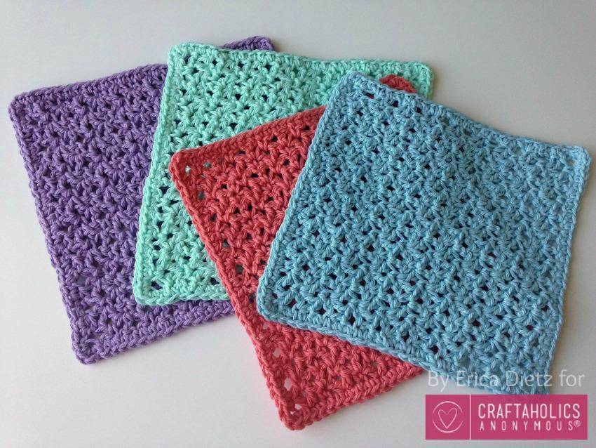 Free Crochet Washcloths pattern