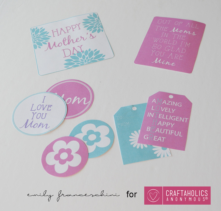 Printable Mothers Day - Painting it Purple for CA