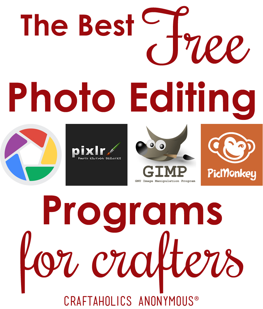 The Best Free Photo Editing Programs for Crafters