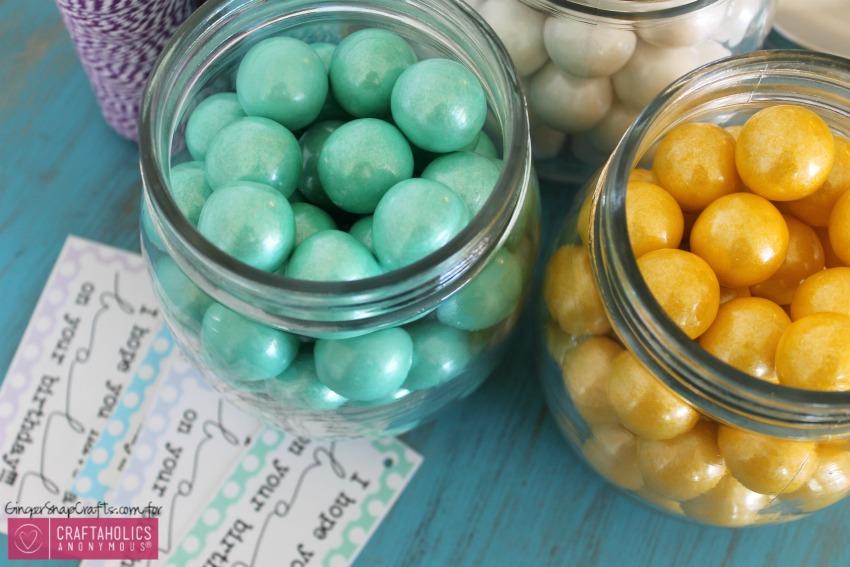 Birthday gifts you can make || Mason Jar birthday gift idea