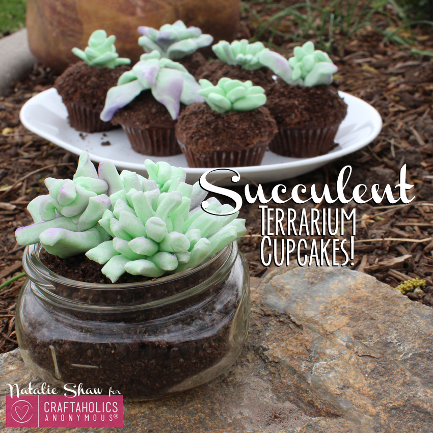 edible terrariums succulents marshmallow fondant cupcake dirt cups cake wedding decor mason jar dessert craftaholics anon (18)