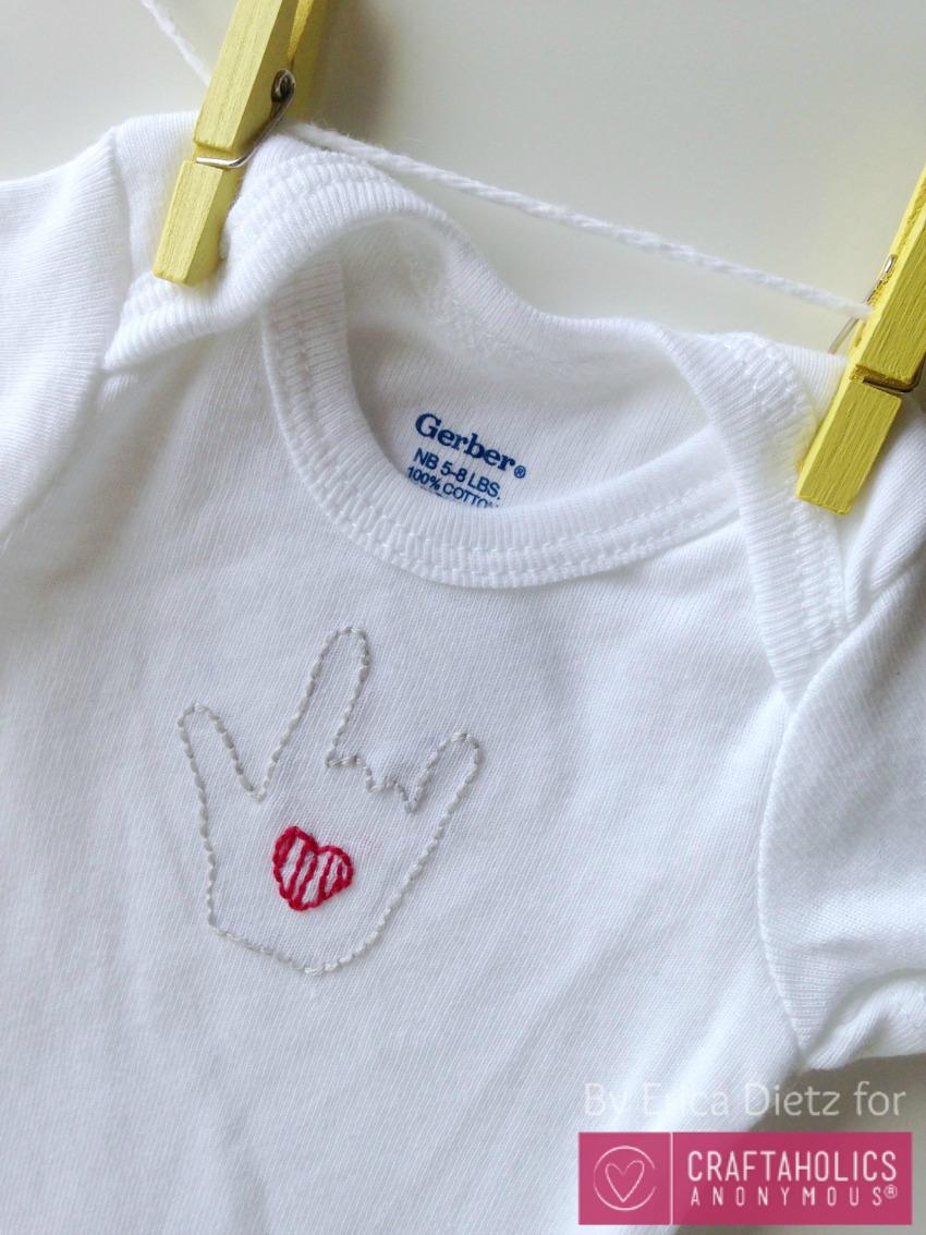 baby onesie idea