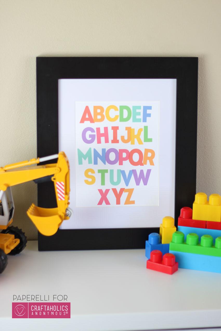 Alphabet-Printable-Poster