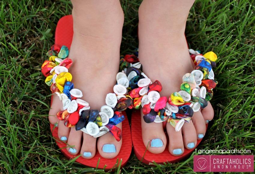 CA flip flop craft #crafts