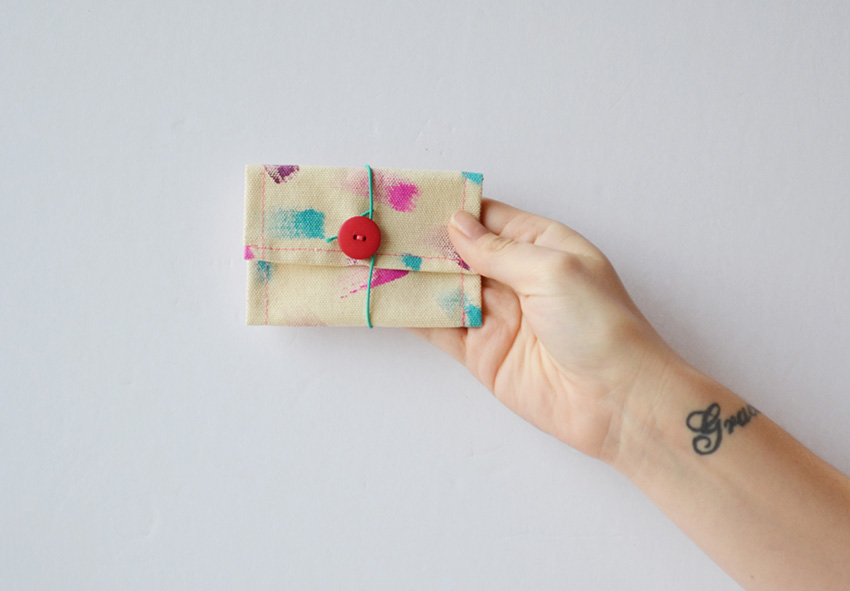 Make a Gift Card Holder