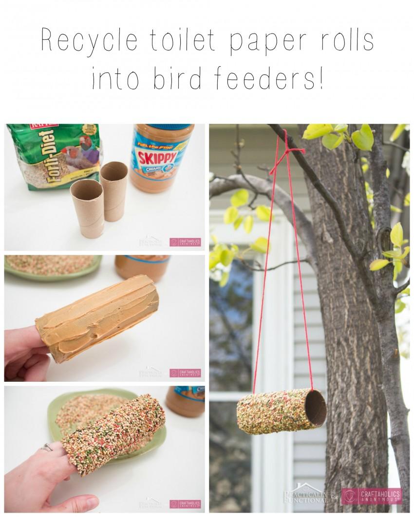 Turn A TP Roll Into A Bird Feeder-8