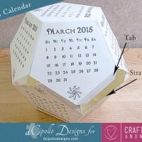 12 Sided Calendar