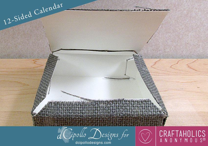 12-Sided Calendar 2015 SVG Cut File dCipollo Designs