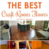 The Best Craft Room Flooring