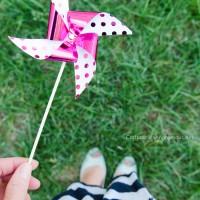 Cute Foil Pinwheels