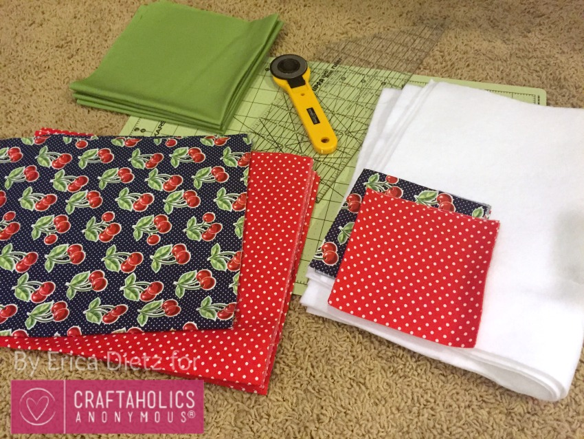 fabric for picnic placemats
