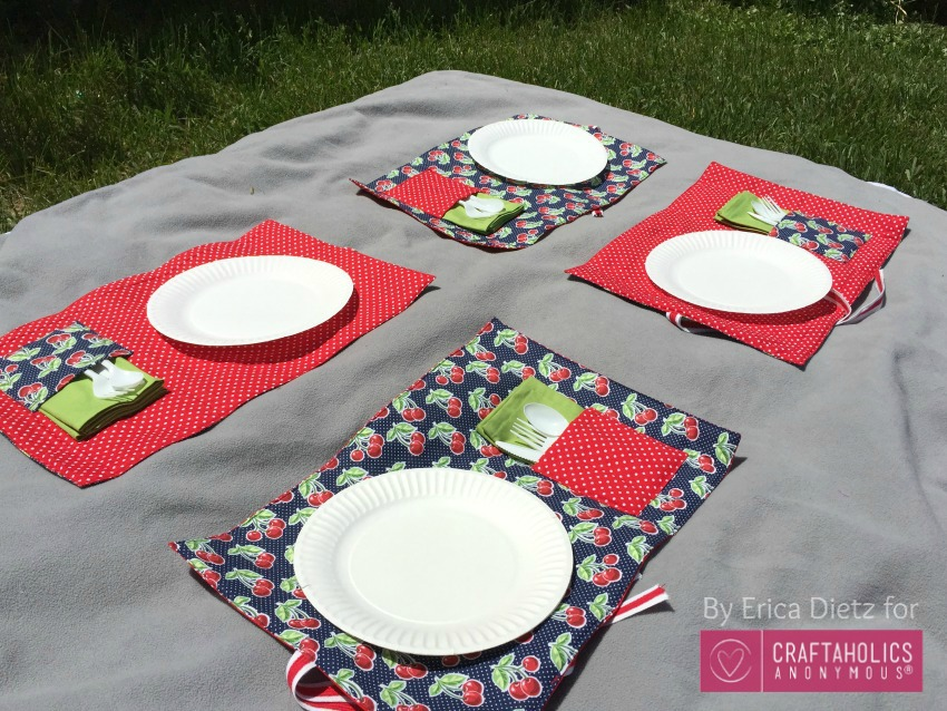 picnic blanket placemats