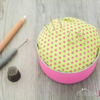 Tin Can Pin Cushion