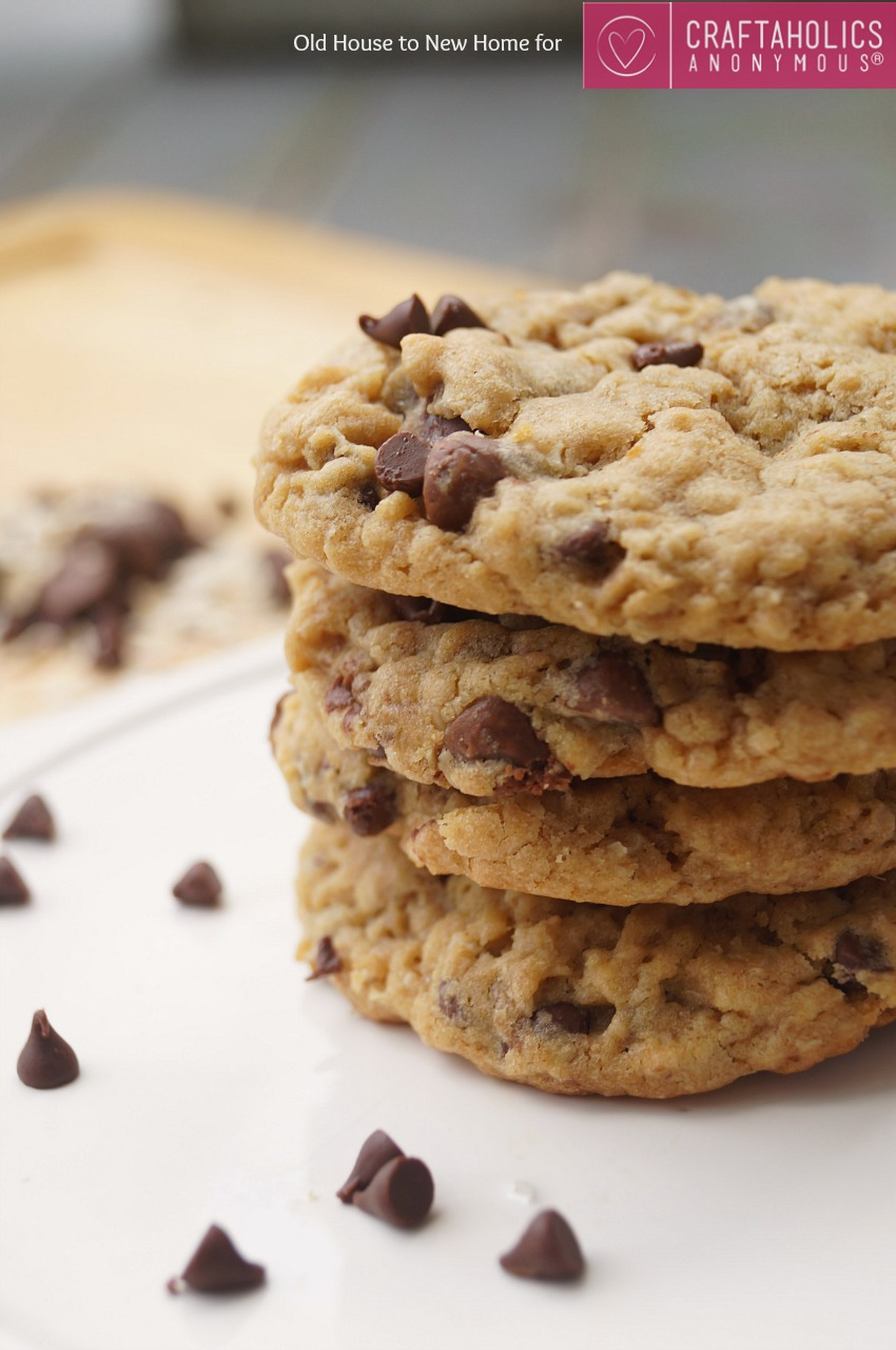 Chocolate Peanut Butter Oatmeal Cookies In A Jar