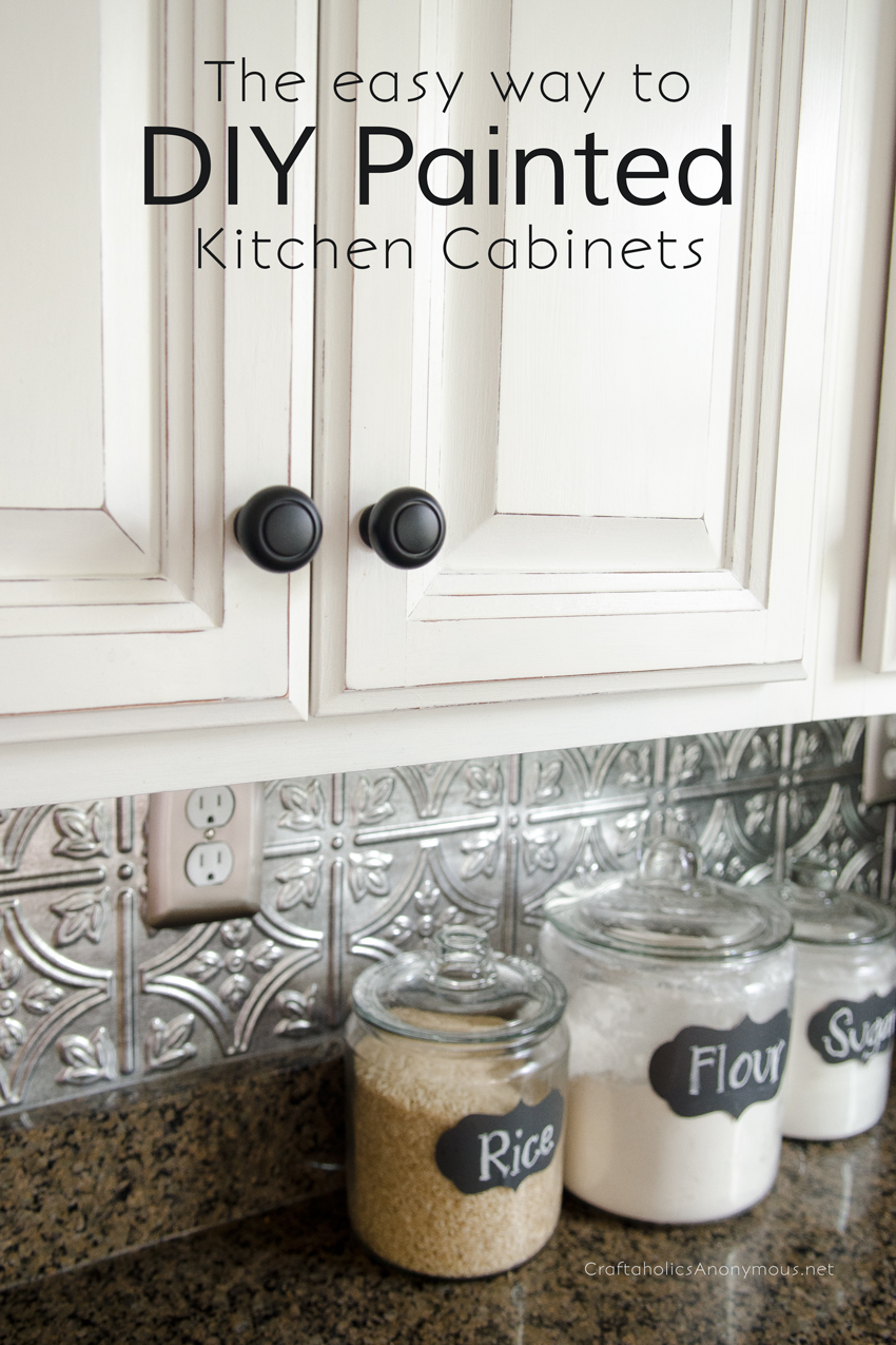 How To Paint Kitchen Cabinets With Chalk