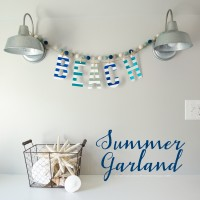 Simple Beach Garland + Exclusive Minc Discount Bundle