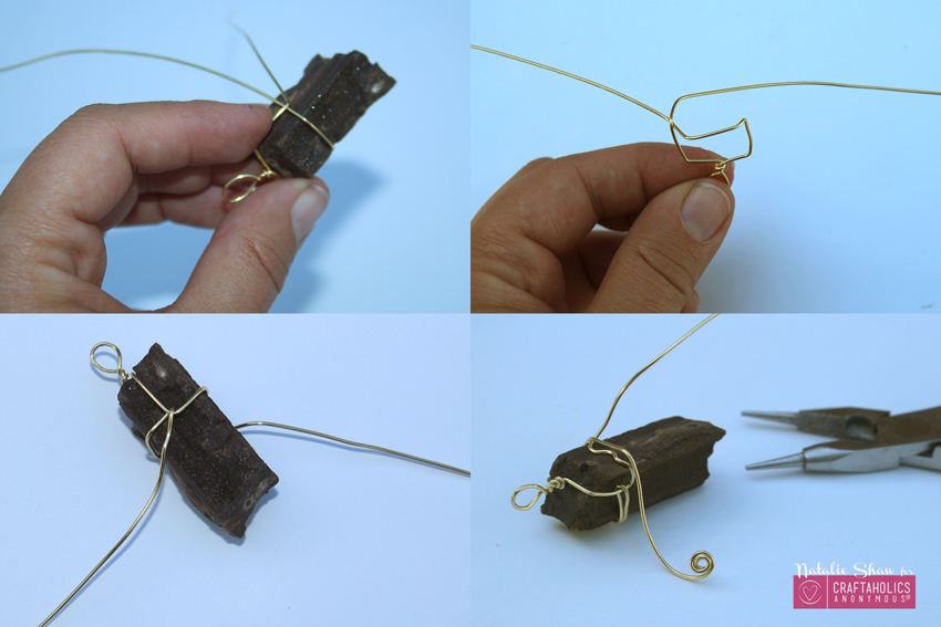 wire wrapped pendants | Craftaholics Anonymous ®