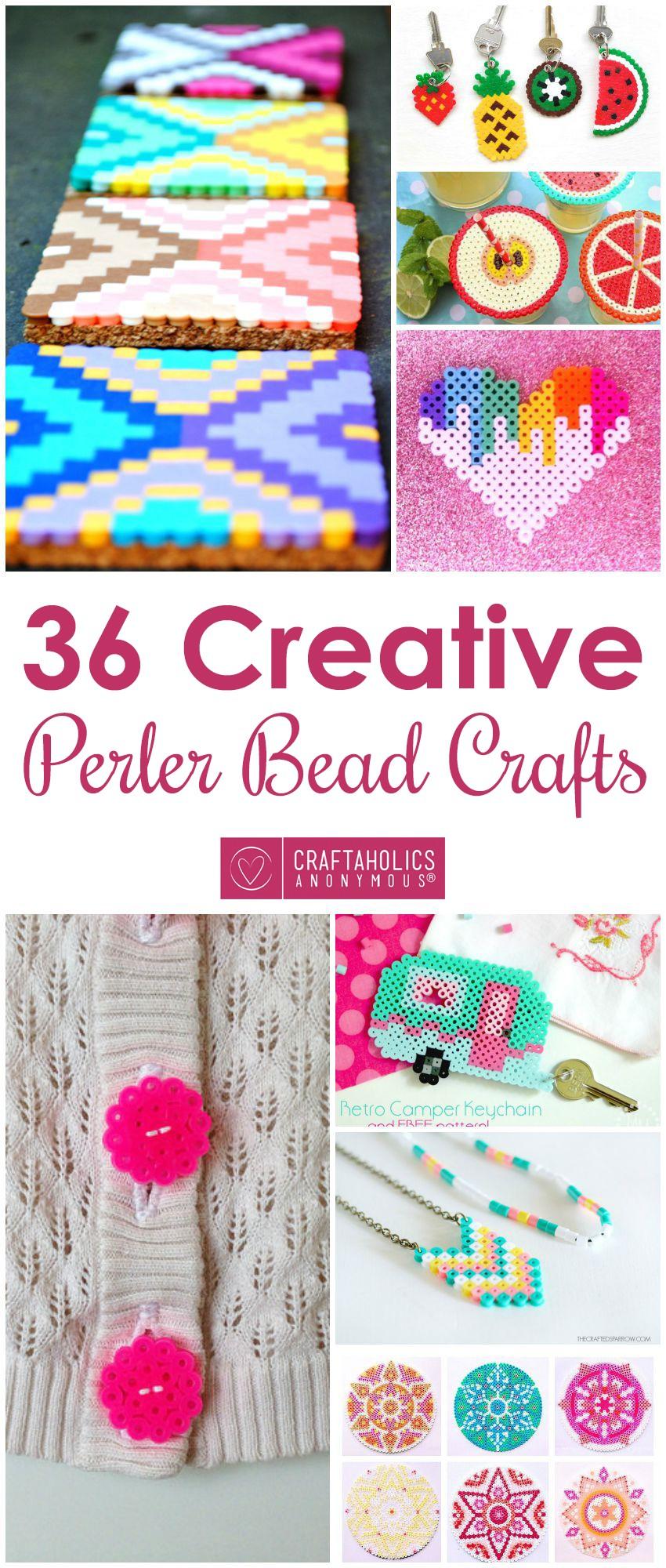 36 Perler Bead Crafts Craftaholics Anonymous®
