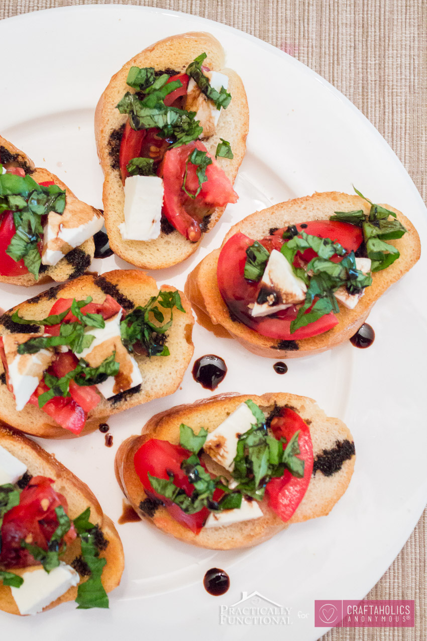 Caprese Bruschetta Recipe