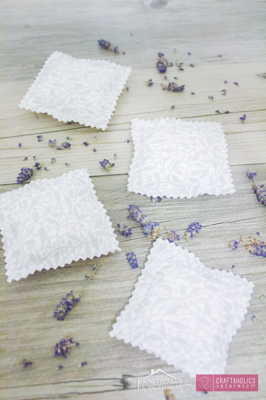 DIY Drawer Sachets