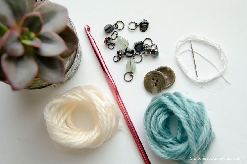 Crochet craft kit