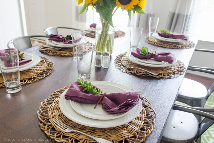 Autumn Dining Room decor ideas