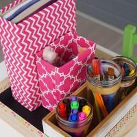 Back to School Supplies Organizer