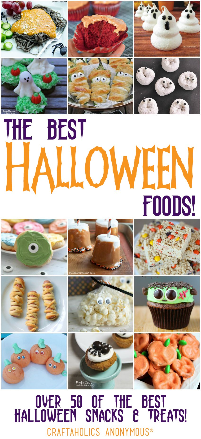 50 of the Best Halloween Foods | Craftaholics Anonymous®