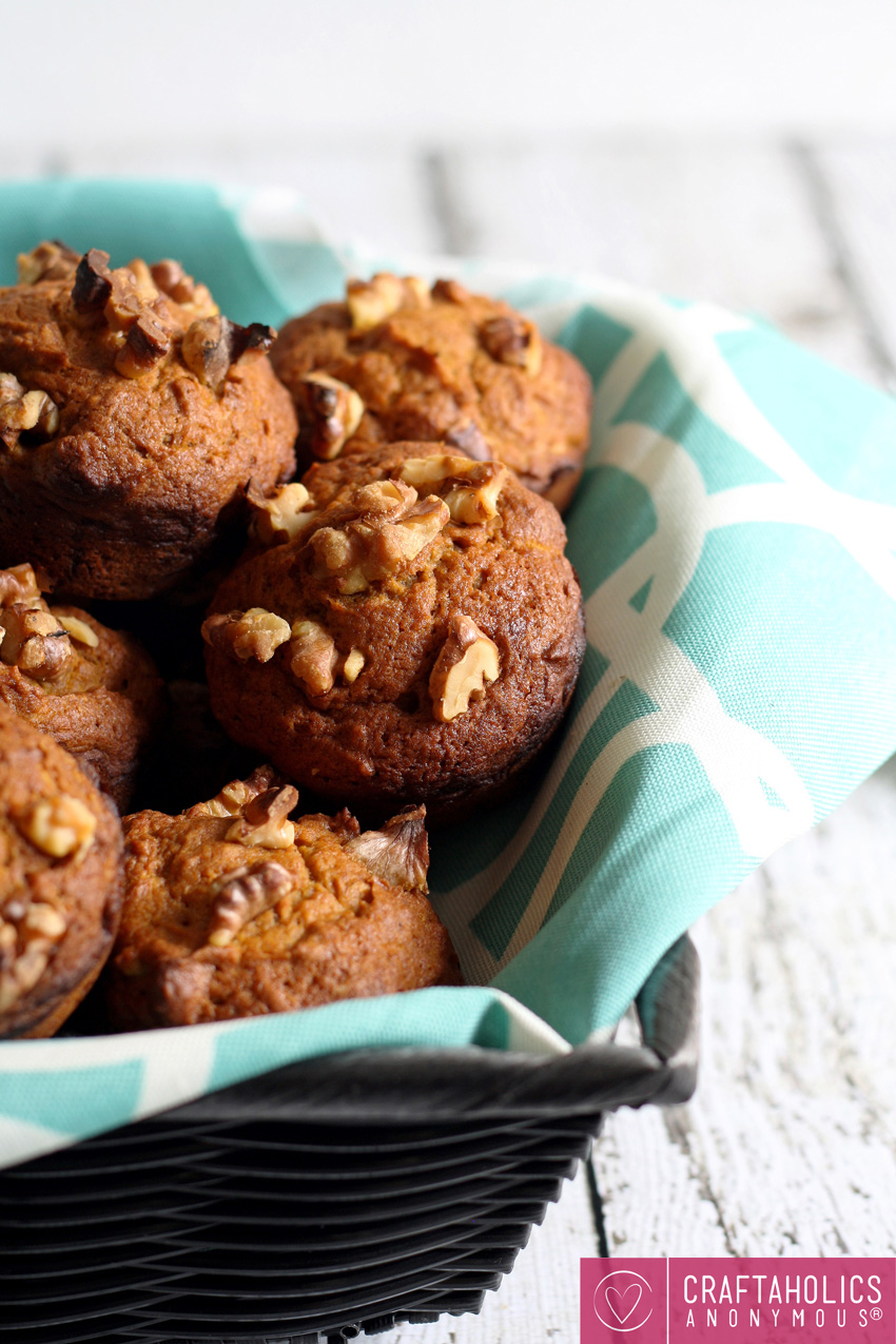 Pumpkin Nut Muffin