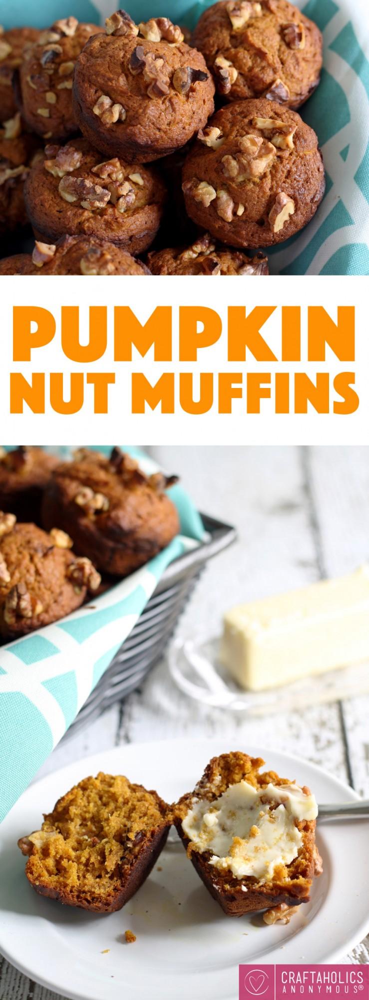 Pumpkin Nut Muffin