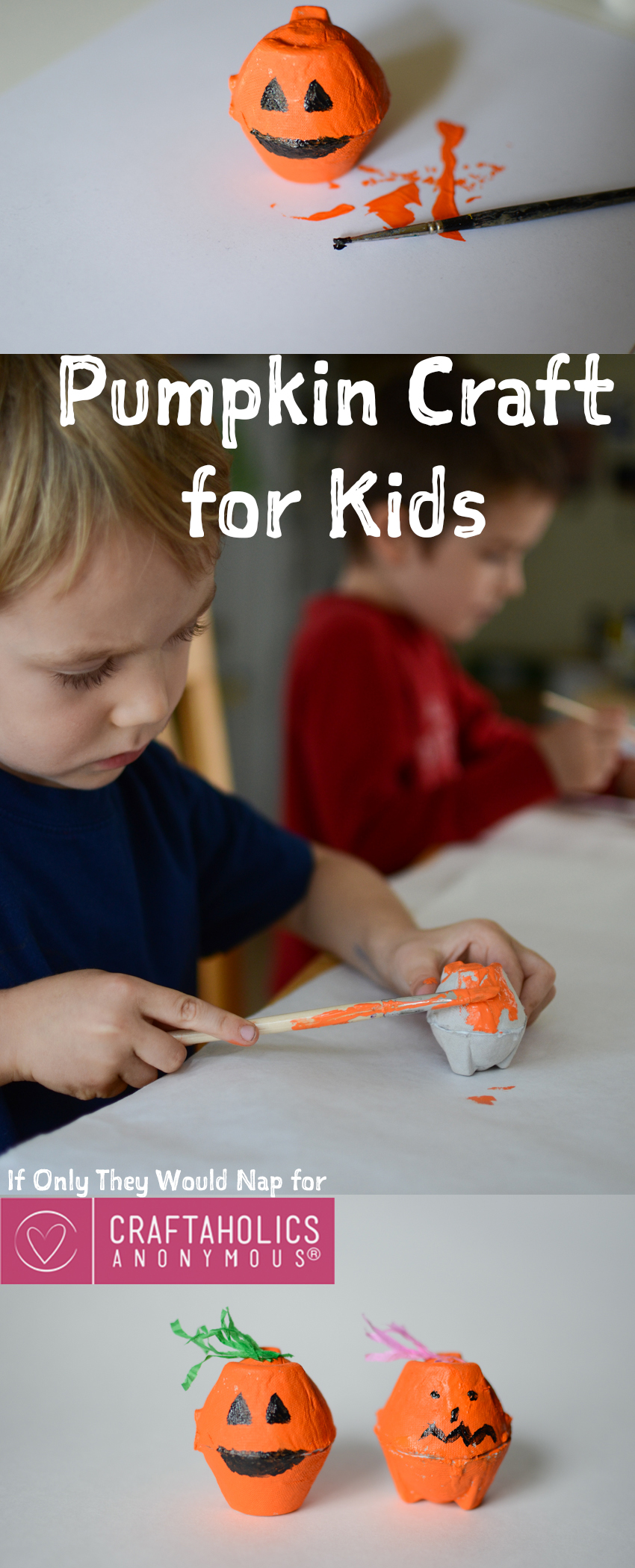 Easy and Fun Pumpkin Craft For Kids