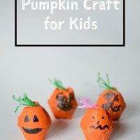 Kids' Easy Pumpkin Craft