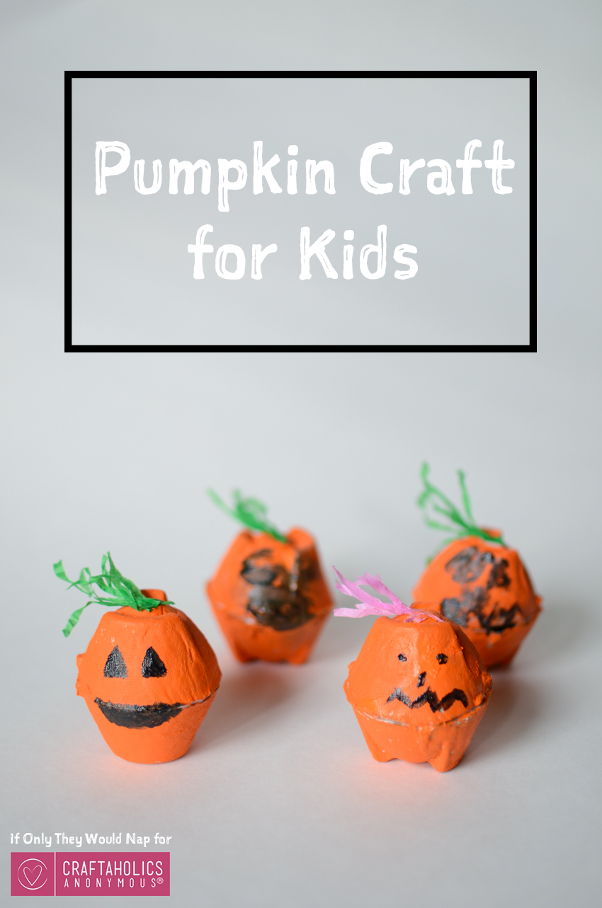 Pumpkin Craft for Kids