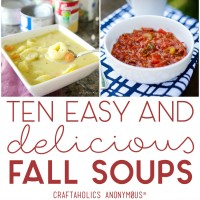 Ten Easy Fall Soup Recipes