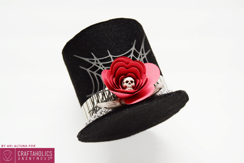 How to make Halloween Top hat with Free Template and Free SVG cut file