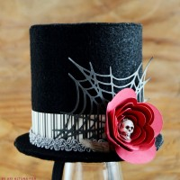 Easy Halloween Top Hat with Free Template