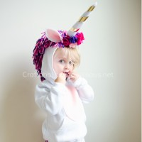 DIY Unicorn Costume Tutorial