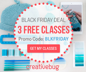 Creativebug Black Friday