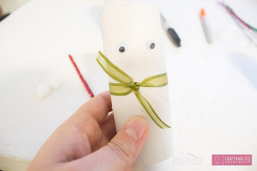 DIY TP Roll Snowmen-3